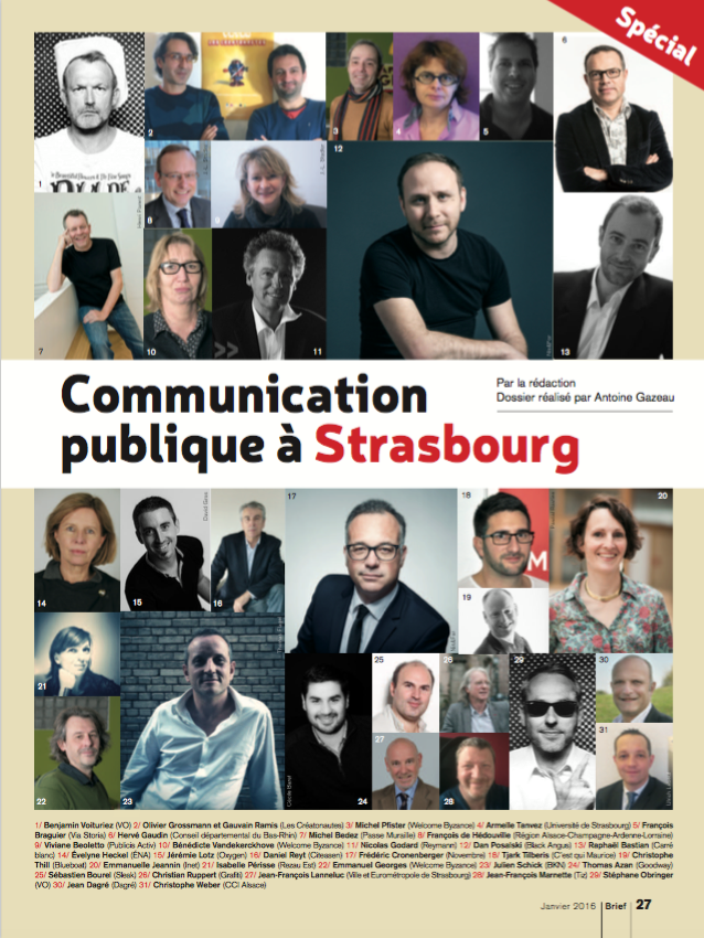 Brief magazine Strasbourg